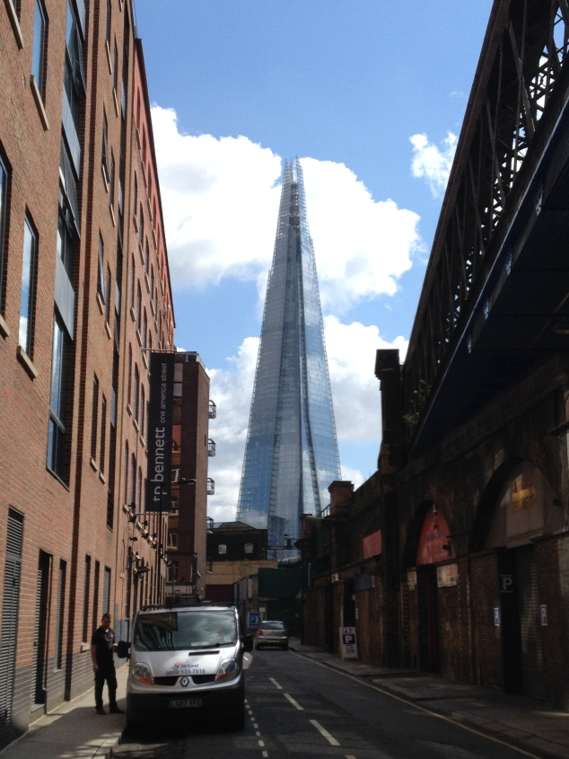 The Shard from our hood.