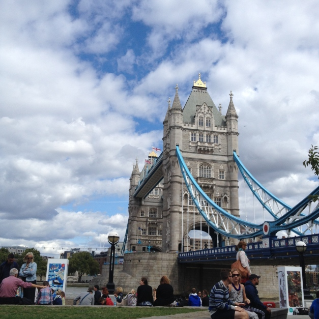 Many people mistakenly think this is London Bridge. This is, in fact, Tower Bridge.