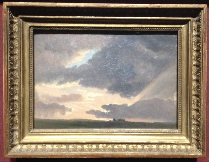 Simon Denis's Sunset in the Roman Campagna
