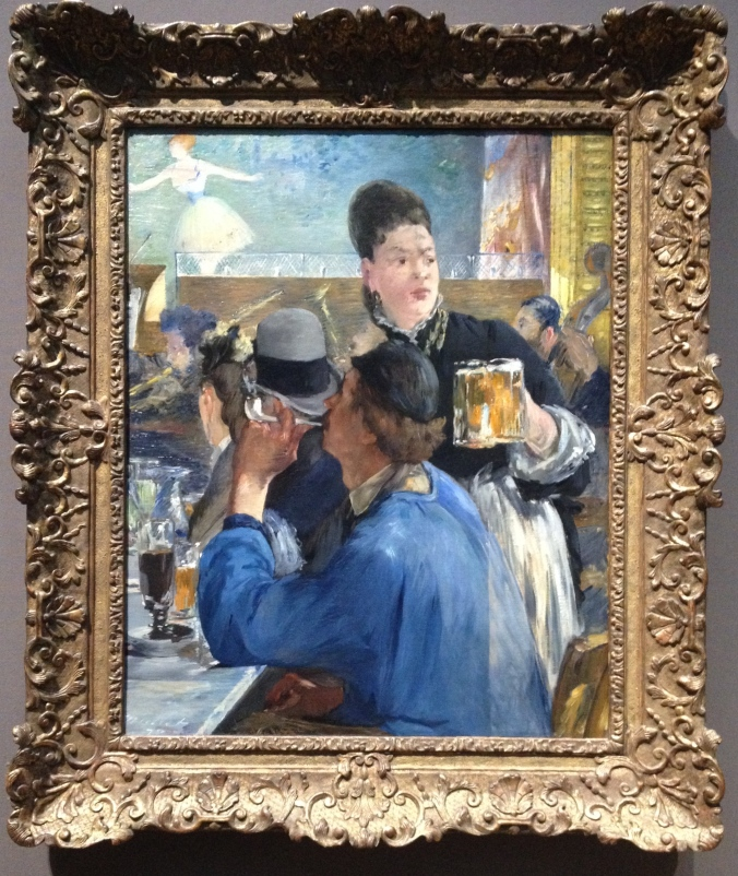 Or we could steal this lady's beer from the painting by Eduard Manet.