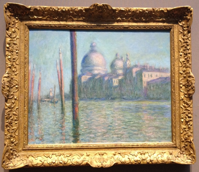 Claude Monet's The Grand Canal, Venice.
