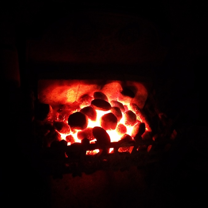 Don't you love the smell of a crackling fire?