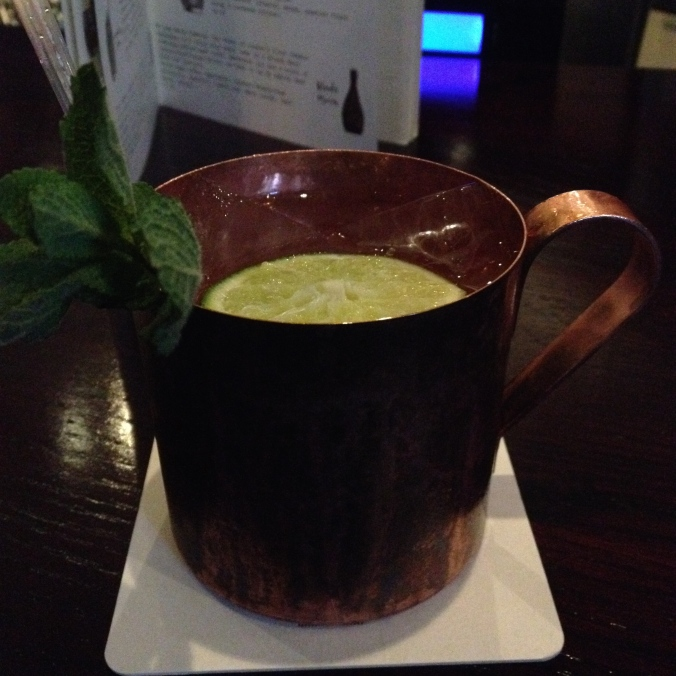 Barrel-aged Moscow Mule